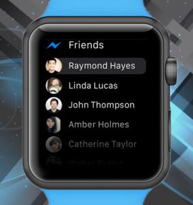 Facebook Messenger Makes Debut on Apple Watch
