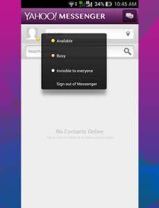 AppMess Review: Yahoo Livetext free download