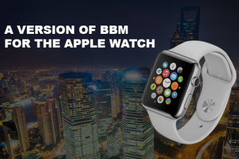 BlackBerry BBM Out For The Apple Watch