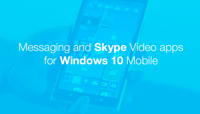 MICROSOFT MESSAGING SUPPORTS SMS AND SKYPE MESSAGES