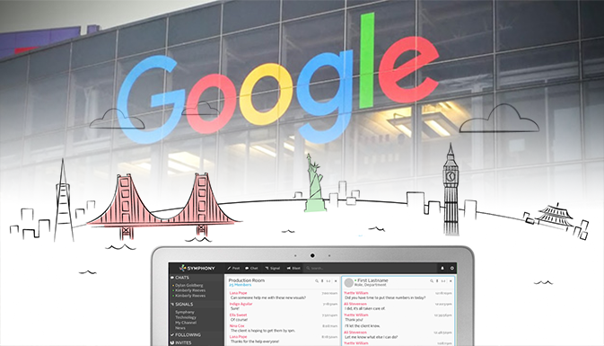 SYMPHONY STARTUP GETS $100 MN FROM GOOGLE