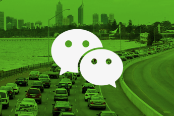 WECHAT FIGHTS HEAVY FOOT TRAFFIC