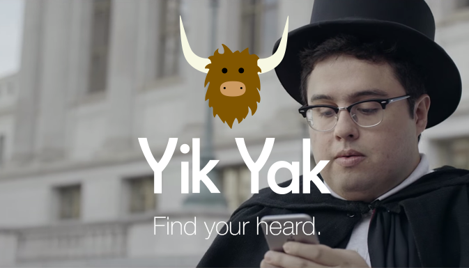 YIK YAK MESSENGER REVIEW