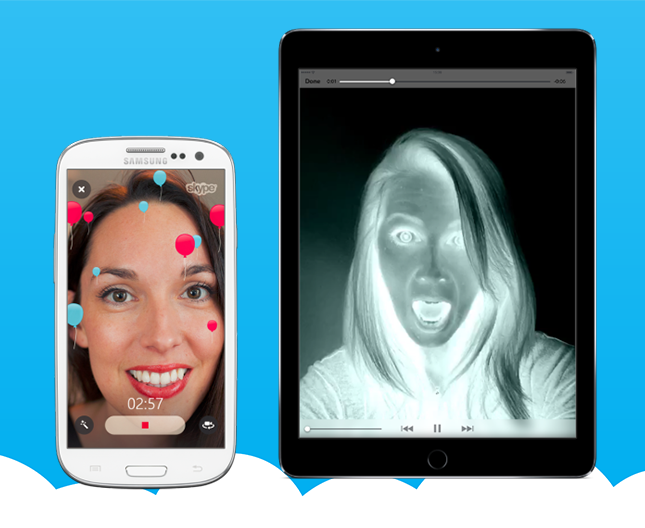 HAVE FUN WITH NEW SKYPE VIDEO FILTERS