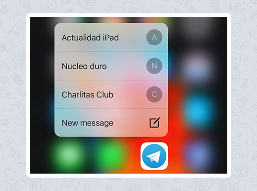 UPDATED TELEGRAM INTRODUCES NEW FEATURES