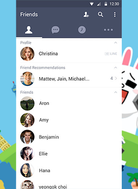 LINE Update To Allow Android Users To Add Friends Sans Phonebook