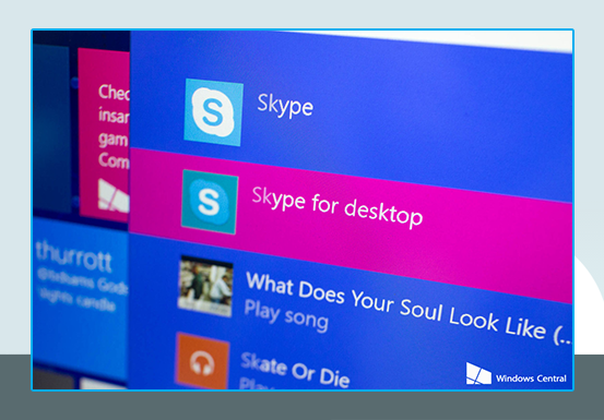 SKYPE TAKES LONGER TO IMPROVE FOR WINDOWS 10