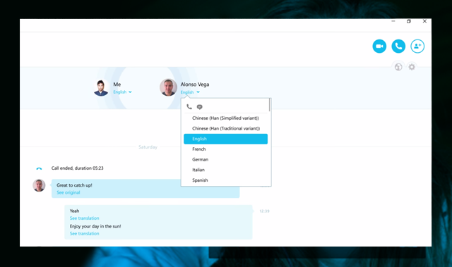 SKYPE DESTROYS LANGUAGE BARRIERS. SIMULTANEOUS INTERPRETING OPTION LAUNCHED