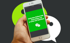 WeChat Celebrates Global Sticker Day In India