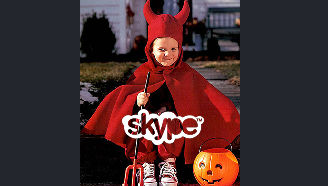SKYPE: FINAL HALLOWEEN PREPARATIONS