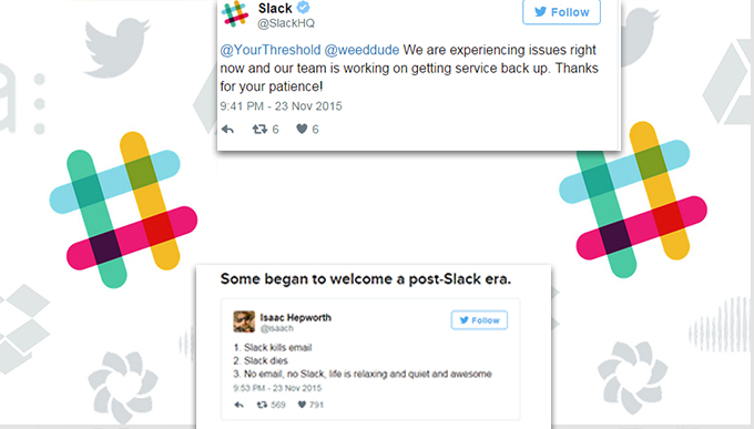SLACK GAVE ITS USERS A GOOD REASON TO PRESS THE PANIC BUTTON