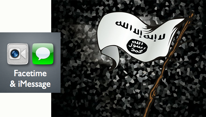 Terrorist-recommended Communication App: iMessage