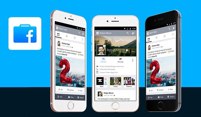 Facebook launches a work messenger