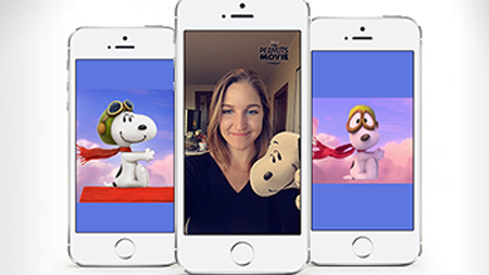 Get A Selfie With Peanuts Characters: Snapchat Tests New Sponsored Lens!