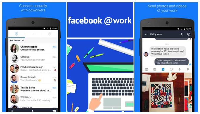 Facebook launches a work messenger