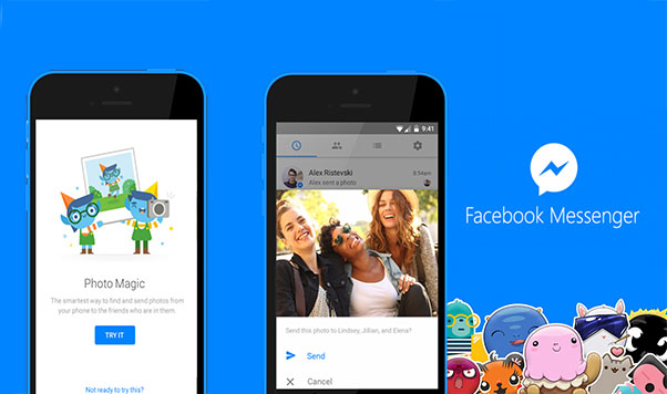 FACEBOOK MESSENGER'S PHOTO MAGIC KEEPS TRACK OF YOUR FRIENDS