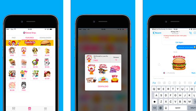 Not You Too, Facebook! Messenger Offers Paid-For Stickers