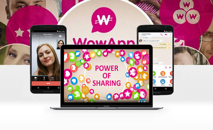 WOWAPP – MESSENGER THAT PAYS ITS USERS
