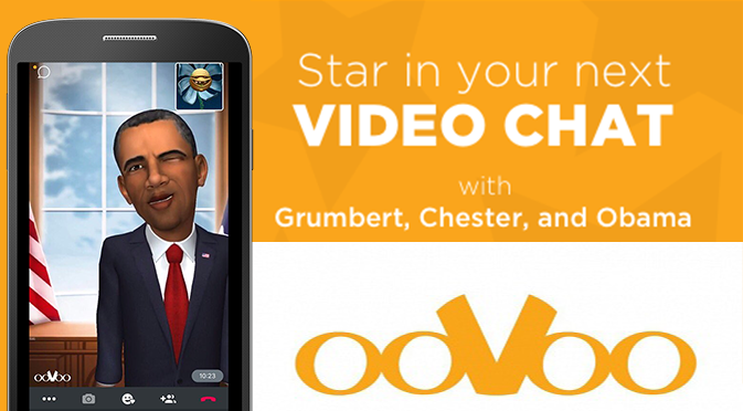 TRY NEW ANIMATED AVATARS WITH OOVOO