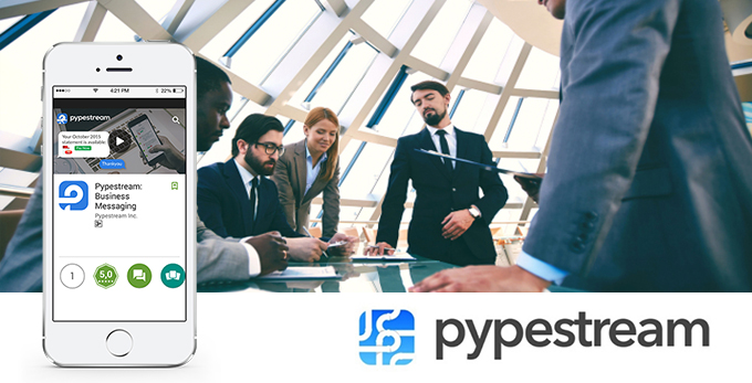 CHAT WITH BUSINESSMEN THROUGH PYPESTREAM