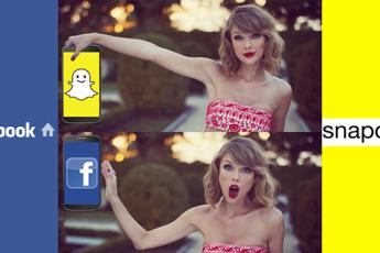 Snapchat Shooting Ahead of Facebook?