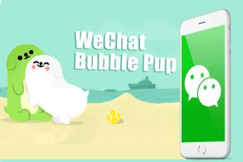 Bubble Pup Stickers Make WeChat Comeback
