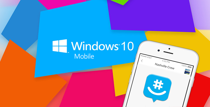 NEW GROUPME VERSION TO APPEAR ON WINDOWS 10 MOBILE