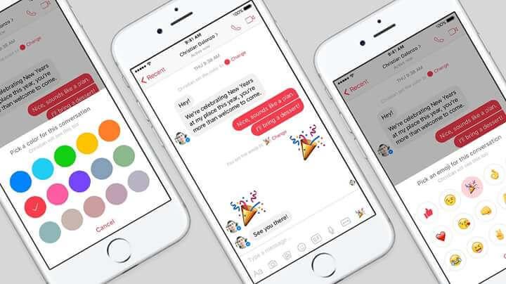 Facebook-Messenger-Customize