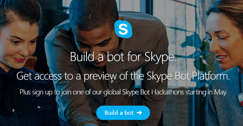 Skype is getting bots